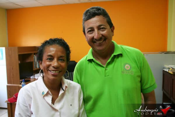 Mayor Daniel Guerrero held a meeting with UNICEF representative Christine Norton